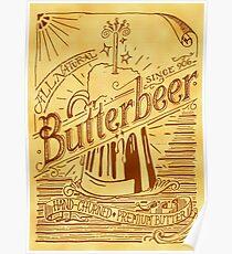 Butterbeer Poster