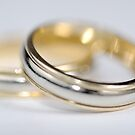 Two wedding rings by Sami Sarkis