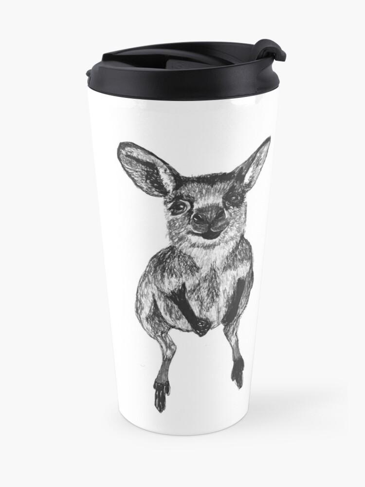 Alternate view of Josephine the Baby Kangaroo Travel Mug