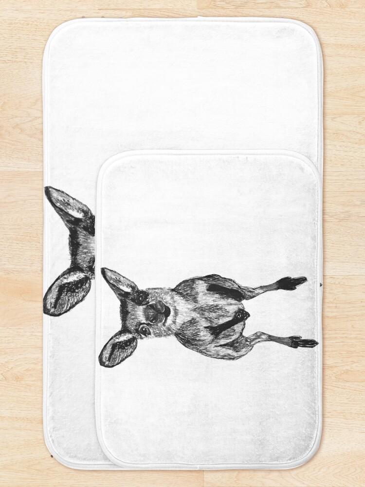 Alternate view of Josephine the Baby Kangaroo Bath Mat