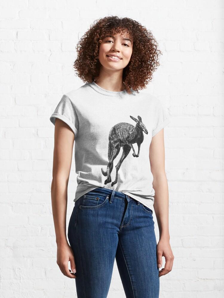 Alternate view of Johnny the Kangaroo Classic T-Shirt