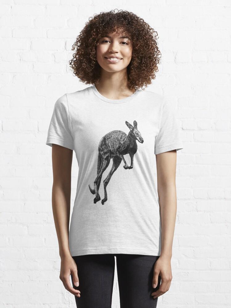 Alternate view of Johnny the Kangaroo Essential T-Shirt
