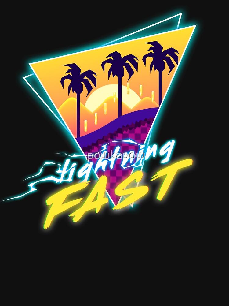 Lightning Fast by powkapow