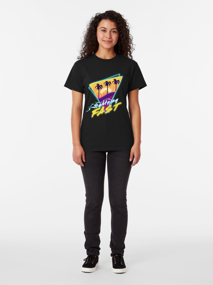 Alternate view of Lightning Fast Classic T-Shirt