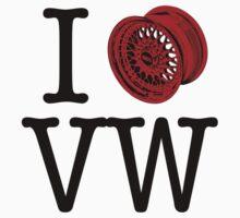 I (+)) VW | Unisex T-Shirt