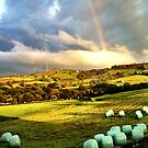 Rainbows and Cloud Kisses by shutterjunkie