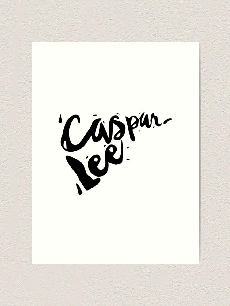 Alternate view of Caspar Lee - Logo Art Print