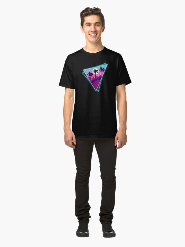 Alternate view of Rings Retro World Classic T-Shirt