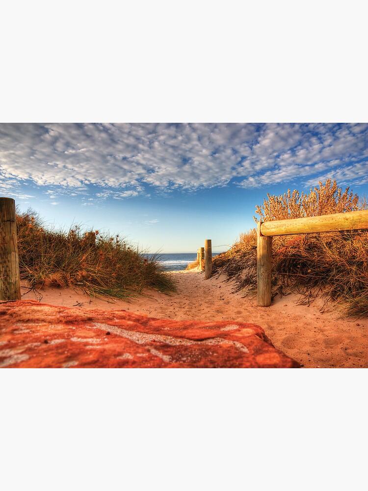 Blue holes beach, Kalbarri by kellykingston