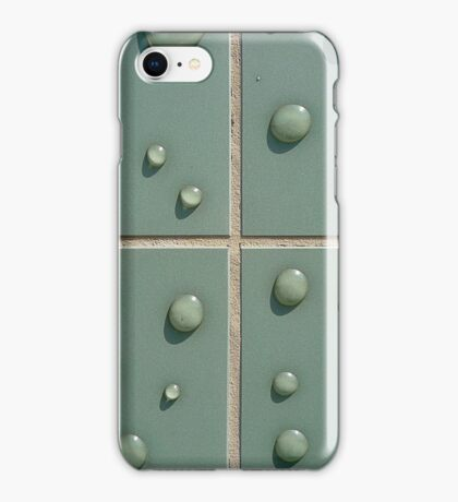 Droplets on the tiles (T-Shirt & iPhone case) iPhone Case/Skin