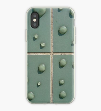Droplets on the tiles (T-Shirt & iPhone case) iPhone Case