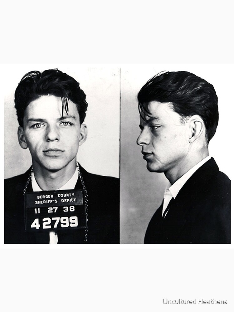 Frank Sinatra Mug Shot | Unisex T-Shirt