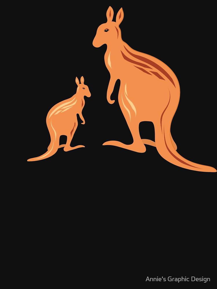 Outback Kangaroos by anniesdesign
