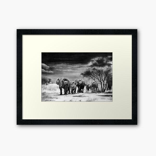 Heart Of Africa Framed Art Print