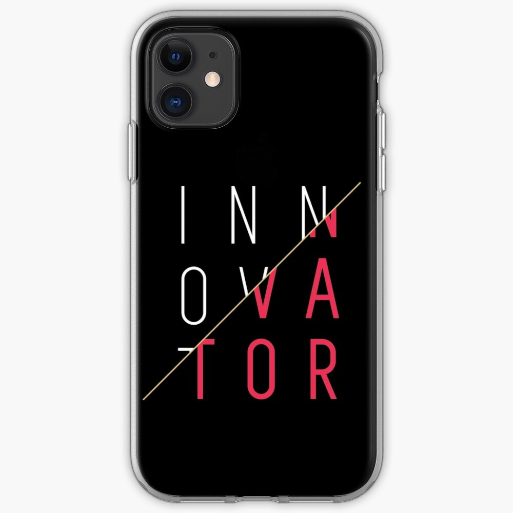 Innovator, Innovation, creativity, graphic, cool, funny shirt iPhone Case