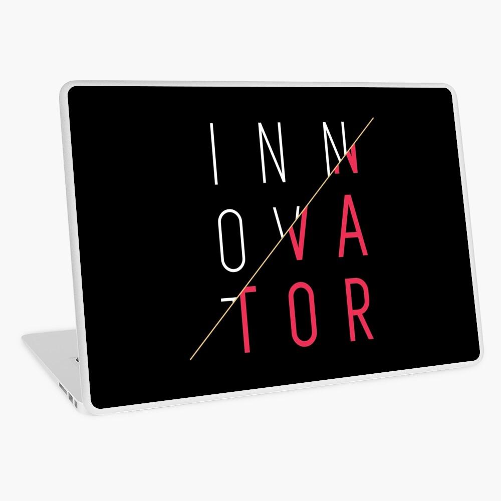 Innovator, Innovation, creativity, graphic, cool, funny shirt Laptop Skin