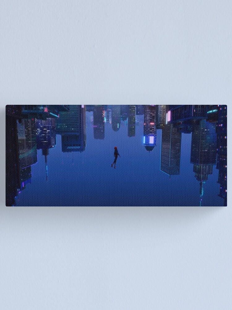 Alternate view of  Into the Spiderverse Canvas Print