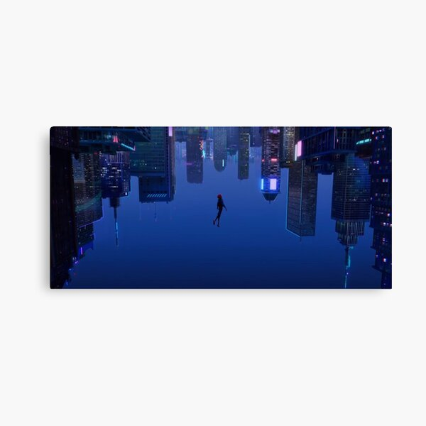 Into the Spiderverse Canvas Print