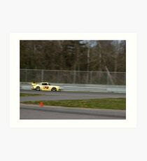 Porsche 911 Race Car at Lime Rock Art Print