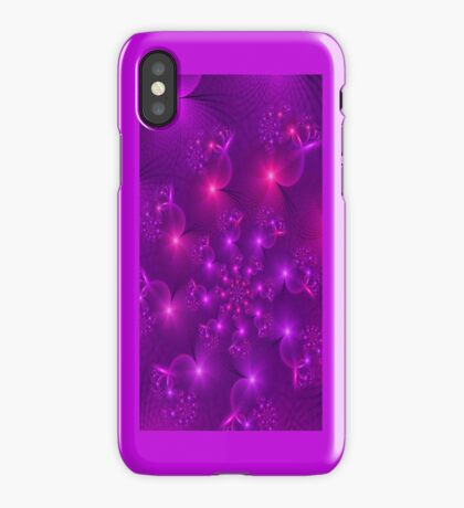 Purple hearts spiral Iphone case iPhone Case/Skin