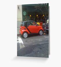 Smart Parking Greeting Card