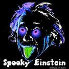 Spooky Einstein Nebula by ayemagine