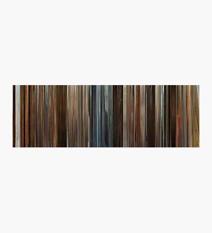 Moviebarcode: Juno (2007) Photographic Print