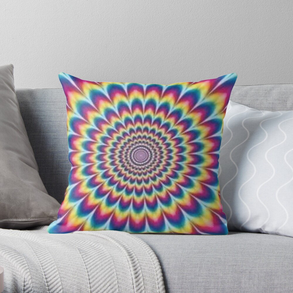 Psychedelic Art, throwpillow,small,1000x-bg,f8f8f8-c,0,200,1000,1000