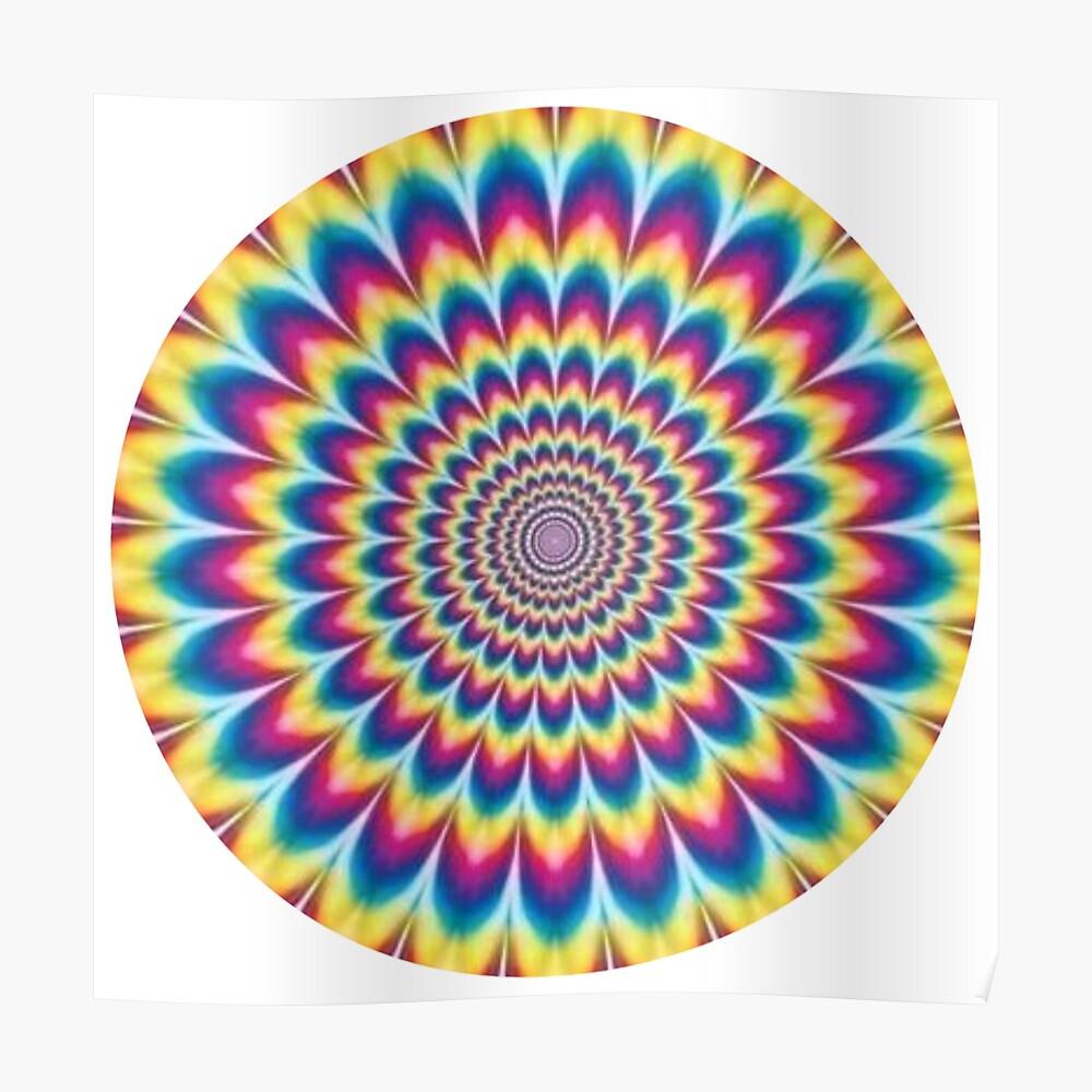 Psychedelic Art, poster,840x830,f8f8f8-pad,1000x1000,f8f8f8