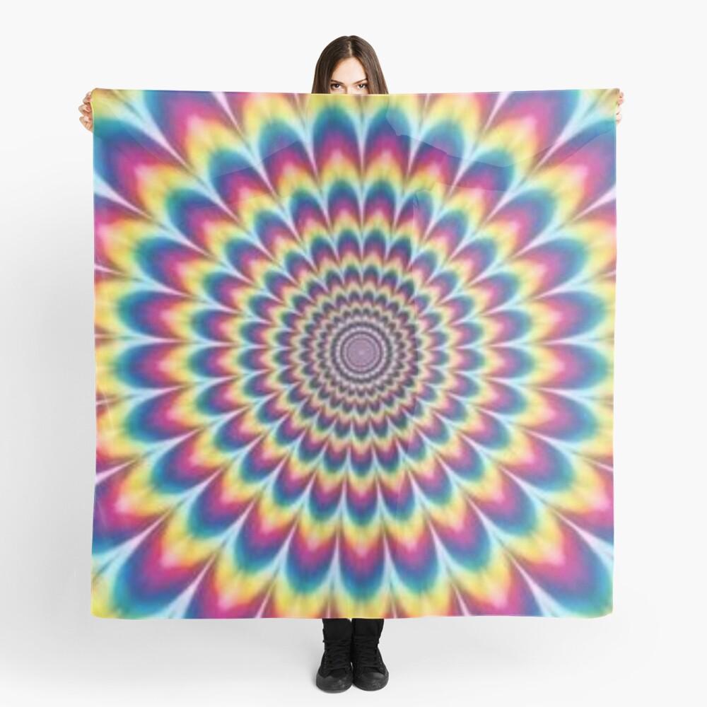 Psychedelic Art, scarf,x1050-pad,1000x1000,f8f8f8
