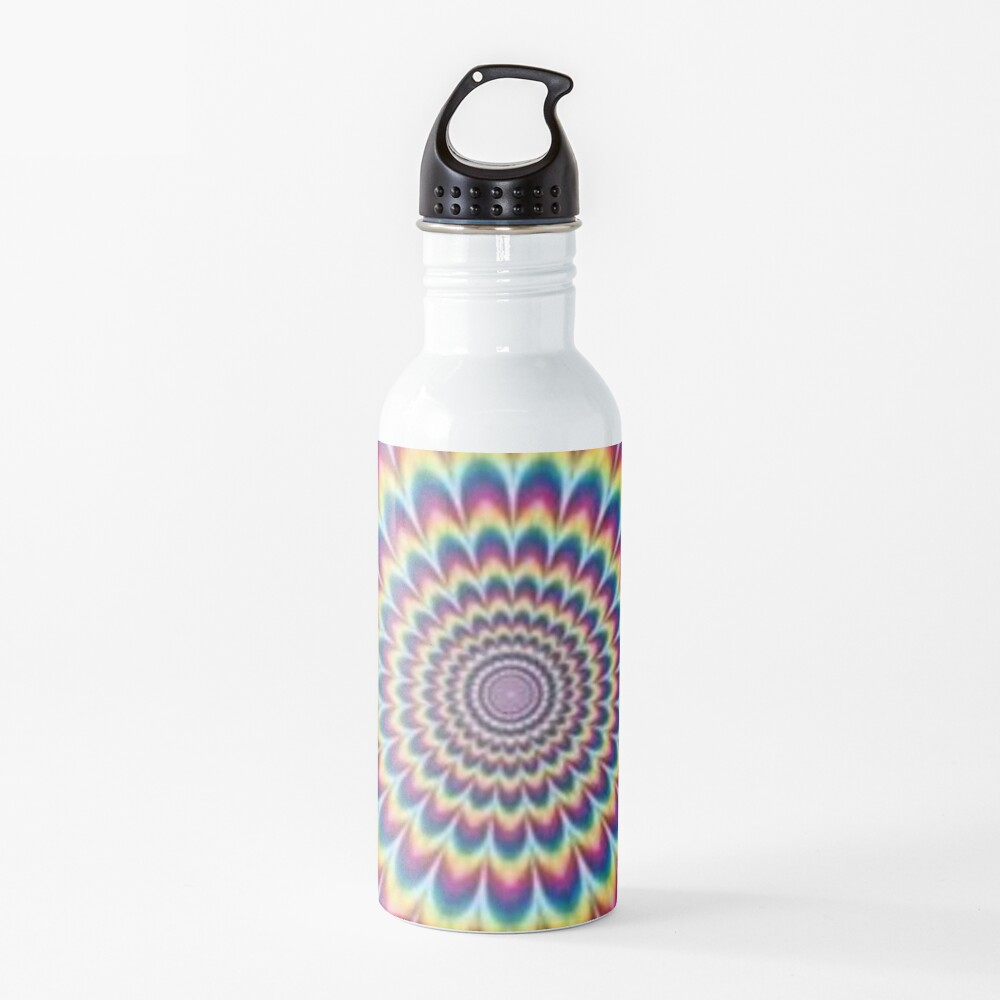 Psychedelic Art, ur,water_bottle_metal_lid_on,square,1000x1000
