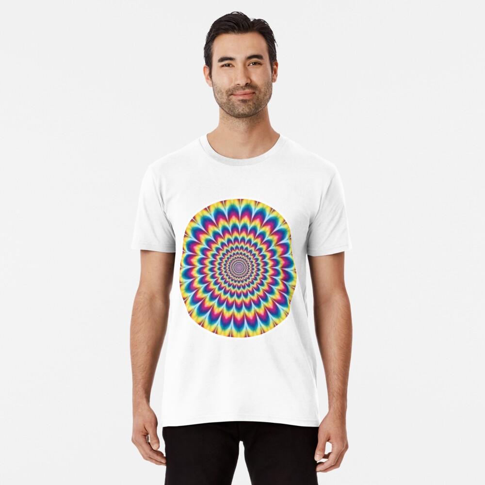 Psychedelic Art, ssrco,mens_premium_t_shirt,mens,fafafa:ca443f4786,front,square_three_quarter,x1000-bg,f8f8f8