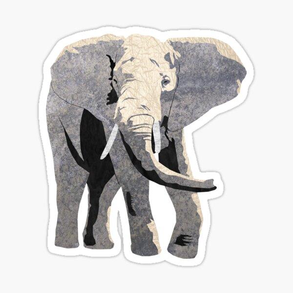 Elephant - Laudea Martin Sticker