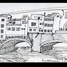 ITALY- Ponte Vecchio, Firenze by James Lewis Hamilton
