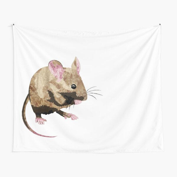 Mouse - Laudea Martin Tapestry