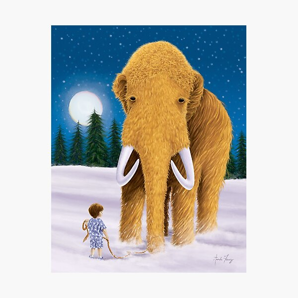 Woolly Mammoth Dream Photographic Print