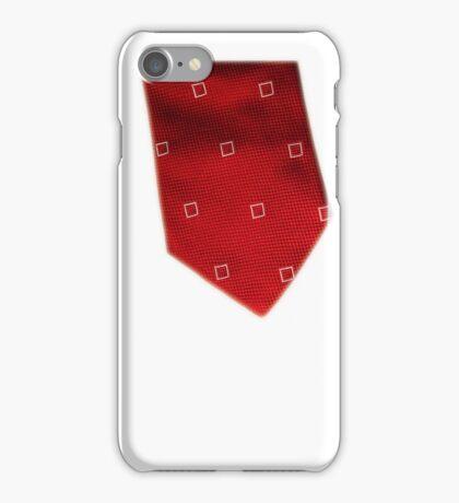 Red Tie iPhone Case/Skin