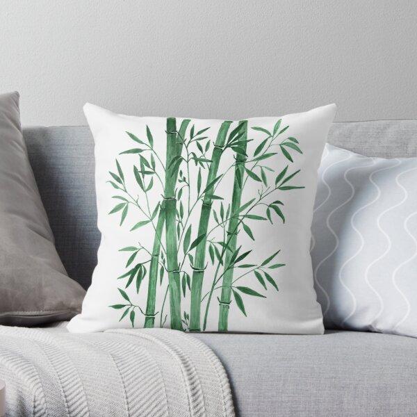 Bamboo 1 Throw Pillow