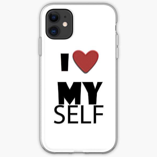 I love myself iphone design iPhone Soft Case