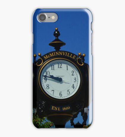 Bicentennial Clock iPhone Case/Skin