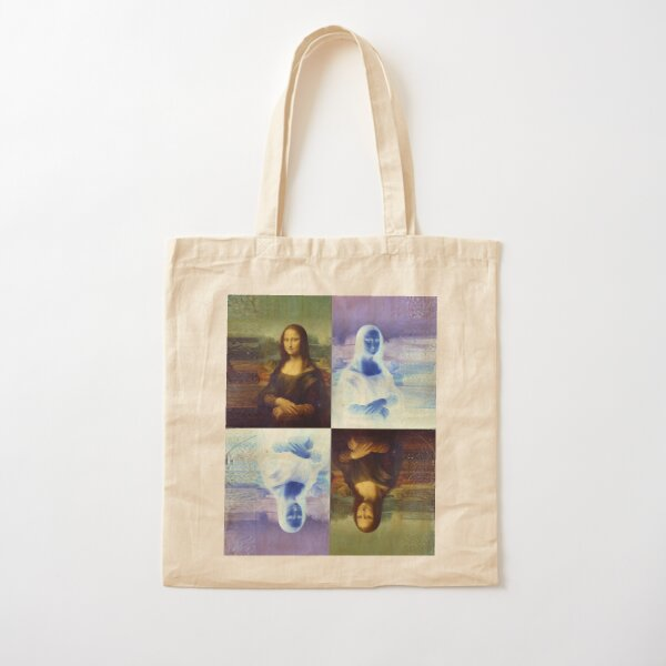 Mona Lisa and the Multiplicity of Worlds Cotton Tote Bag
