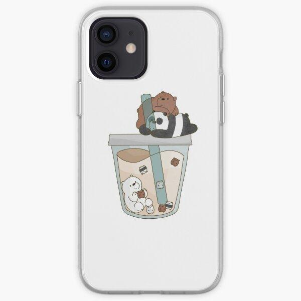 We Bare Bears Boba iPhone Soft Case