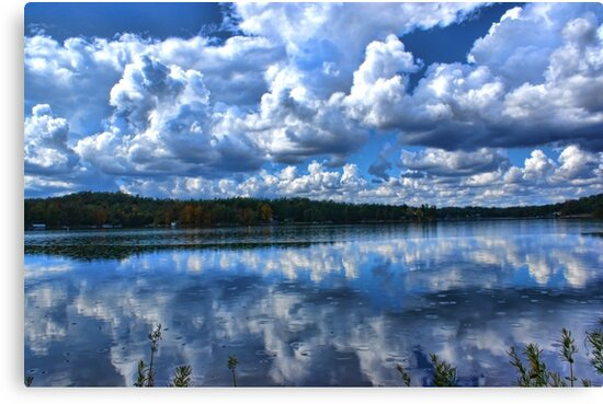 Lake With Sprinkles by Rick  Friedle