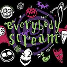 Everybody Scream (Dark Tee Version) by Paula García