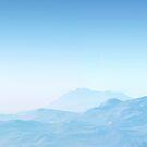 Misty Blue Mountains - phone Case by Ann Garrett