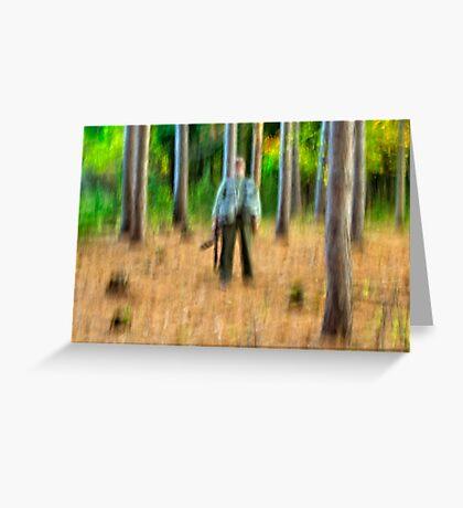 Fuzzy photographer Greeting Card