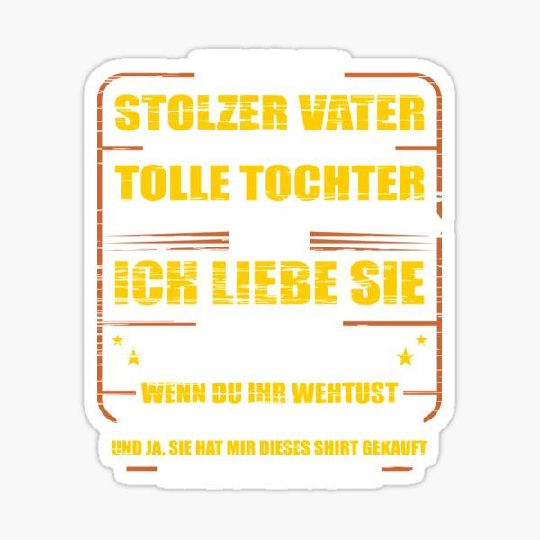 Stolzer Vater Geschenk Sticker