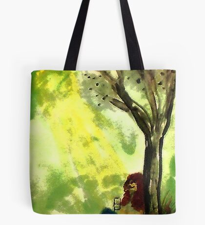 Reading is knowledge, watercolor Tote Bag