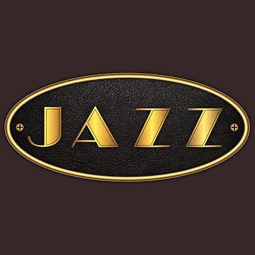 Oval Gold Jazz by monafar