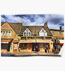 A  Cotswold Giftshop Poster